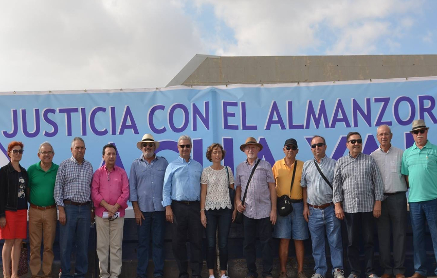 Manifestación en Villaricos