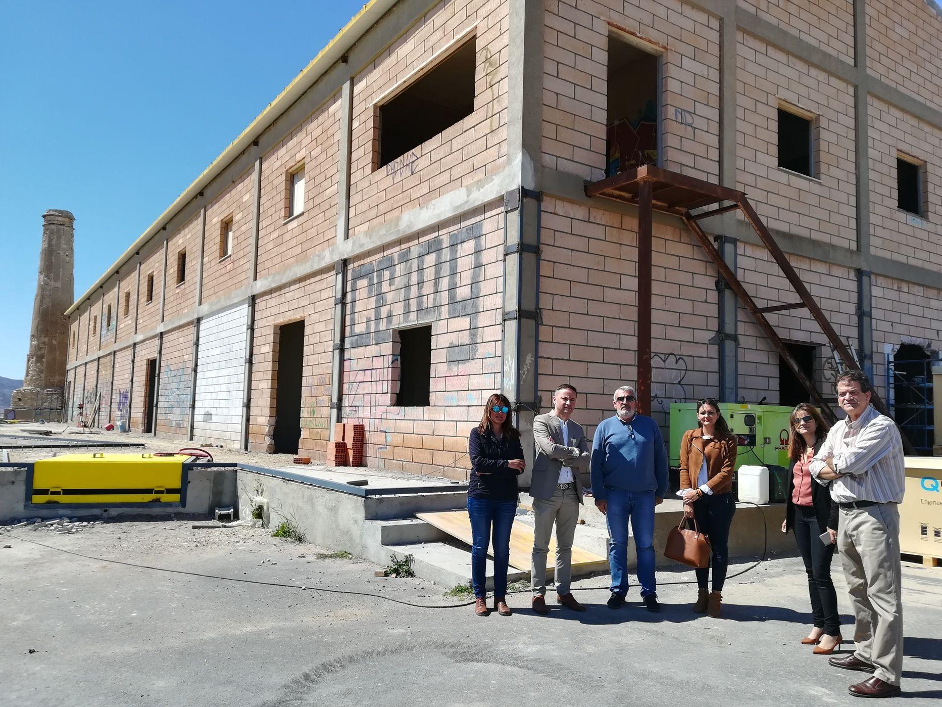 Visita del delegado de Economía, Innovación, Ciencia y Empleo, Miguel A. Tortosa